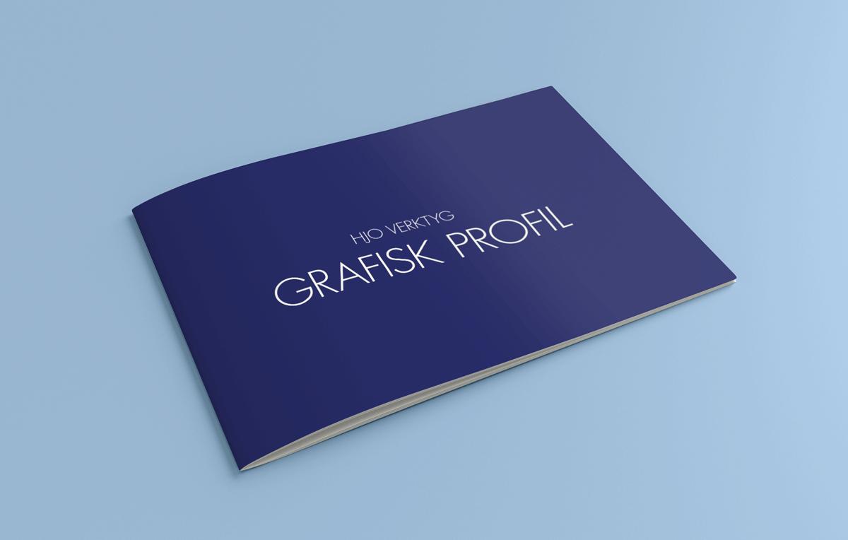 Grafisk manual från Hjo Verktyg